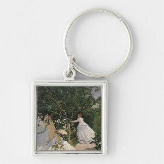 Claude Monet | Women in the Garden, 1866 Keychain