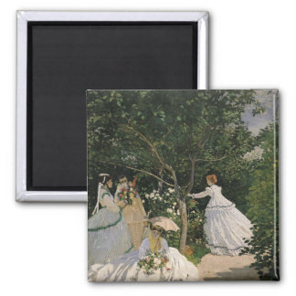Claude Monet | Women in the Garden, 1866 Magnet