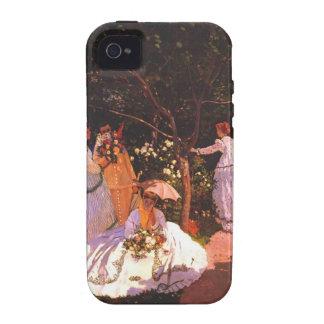 Claude Monet Women in the Garden Vibe iPhone 4 Cases