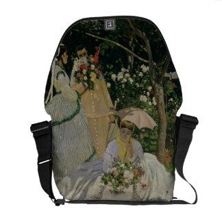 Claude Monet | Women in the Garden Courier Bag