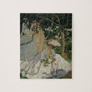 Claude Monet | Women in the Garden Jigsaw Puzzle