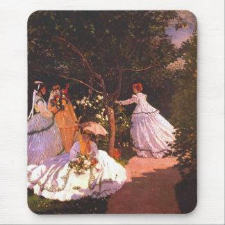 Claude Monet // Women in the Garden Mouse Pad