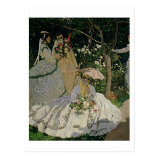 Claude Monet | Women in the Garden Postcard