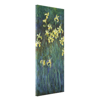 Claude Monet - Yellow Irises Stretched Canvas Prints