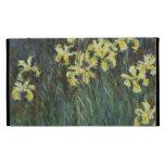 Claude Monet - Yellow Irises iPad Cases