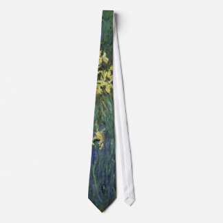 Claude Monet - Yellow Irises Tie
