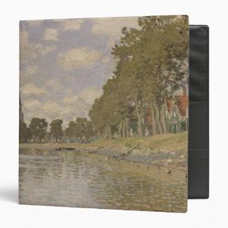 Claude Monet | Zaandam 1871 3 Ring Binder