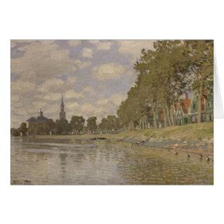 Claude Monet | Zaandam 1871 Card