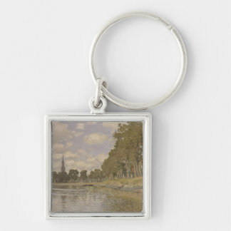 Claude Monet | Zaandam 1871 Keychain