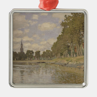 Claude Monet | Zaandam 1871 Metal Ornament