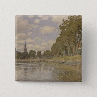 Claude Monet | Zaandam 1871 Pinback Button