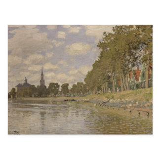 Claude Monet | Zaandam 1871 Postcard