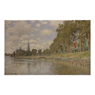 Claude Monet | Zaandam 1871 Poster