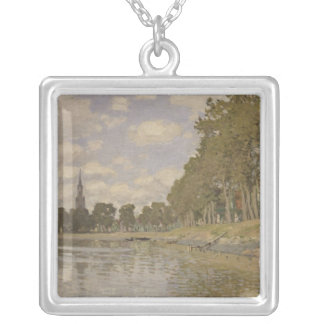 Claude Monet | Zaandam 1871 Silver Plated Necklace