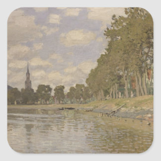 Claude Monet | Zaandam 1871 Square Sticker