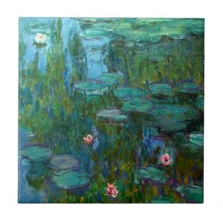 Claude Monet's Nymphéas Ceramic Tile