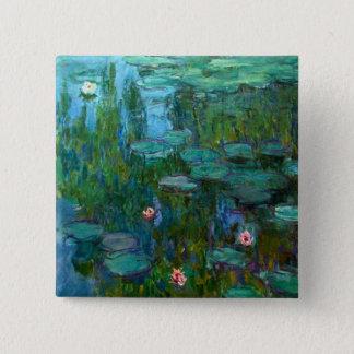 Claude Monet's Nymphéas Pinback Button