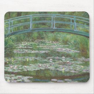 Claude Monet's The Japanese Footbridge Mouse Pad