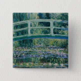 Claude Monet's Water Lilies and Japanese Bridge Button