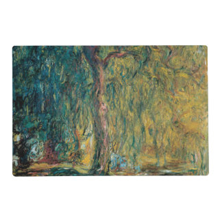 Claude Monet's Weeping Willow Placemat