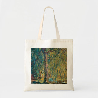Claude Monet's Weeping Willow Tote Bag