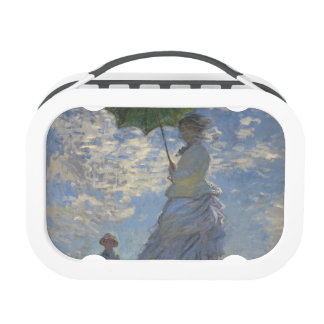 Claude Monet's Woman with a Parasol Lunch Box