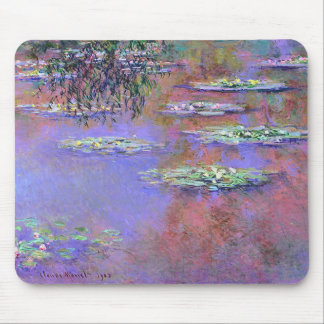 Claude Monte Water Lilies Mouse Pad