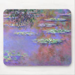 Claude Monte Water Lilies Mousepads