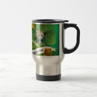 Claude St. Patricks Day Travel Mug