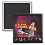 Claude Stuart stage magnet
