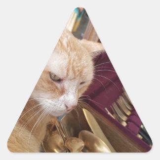 Claude Triangle Sticker