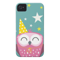 Claudette Party Owl Case-Mate iPhone 4 Case