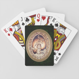 Claudette Steampunk Playing Cards