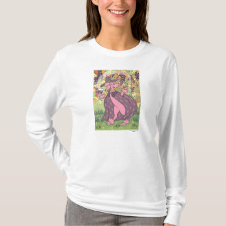 Claudette the Pink Poodle, Enchantress of Red Wine T-Shirt