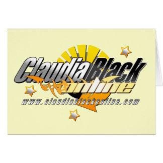 Claudia Black  Online greeting card 01