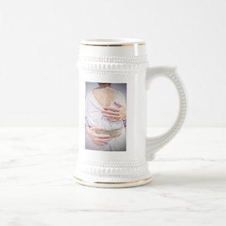 Claudia & Scott's Wedding Stein Mug