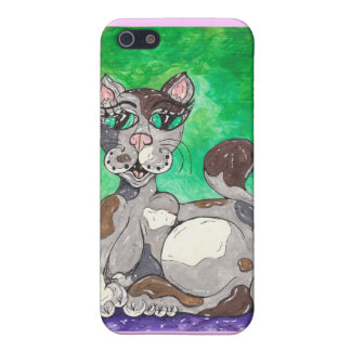 Claudia the Calico Cat Covers For iPhone 5