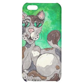 Claudia the Calico Cat iPhone 5C Cases