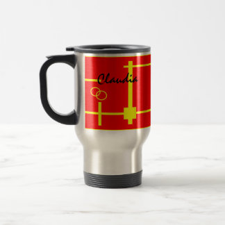 Claudia travel mugs