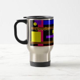 Claudia's travel mug