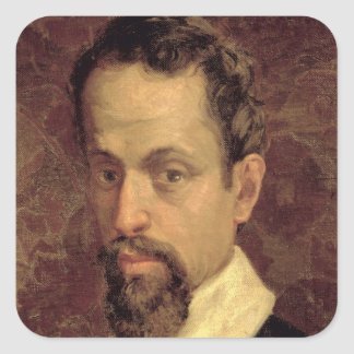 Claudio Monteverdi Square Sticker