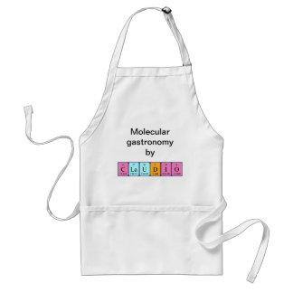 Claudio periodic table name apron