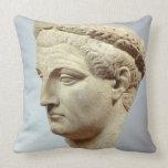 Claudius, cabeza de mármol, ANUNCIO 41-54 Cojin