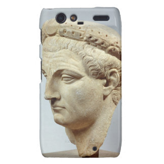Claudius, marble head, 41-54 AD Motorola Droid RAZR Cover