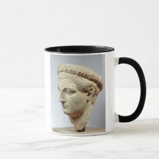 Claudius, marble head, 41-54 AD Mug