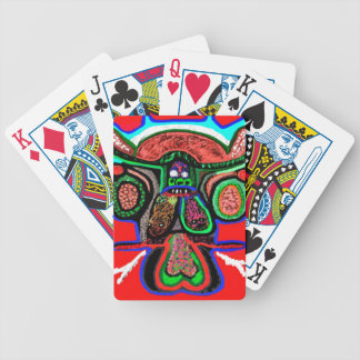 Claudnine Bull Stories -  ART101 Collection Bicycle Playing Cards