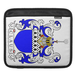 Claus Coat of Arms (English) Sleeves For iPads