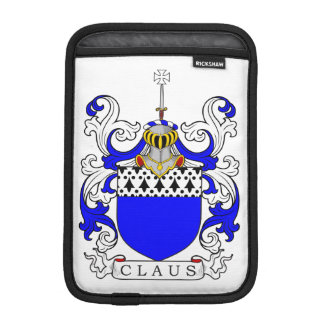 Claus Coat of Arms (English) iPad Mini Sleeve