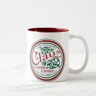 Claus y taza del Co