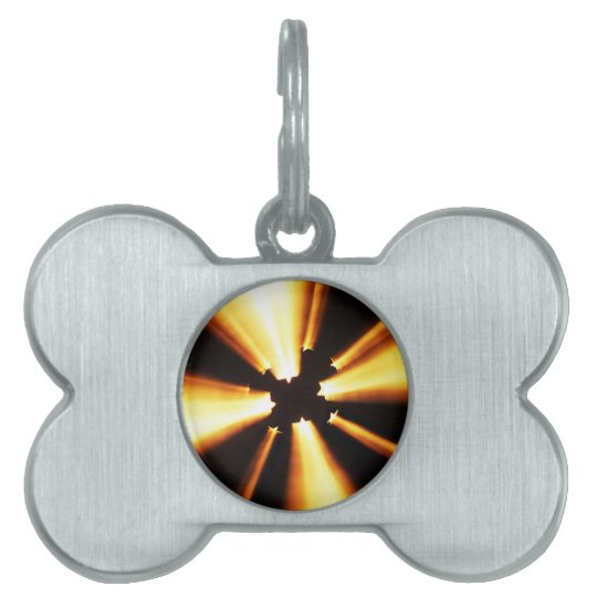 Clause  Christian Decoration Tree Ornaments Light Pet ID Tag